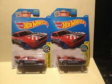 (2) -Hot Wheels Dodge Challenger Drift Car- Two Car Lot
