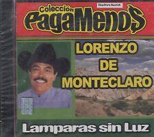 Lorenzo De Monteclaro Lampara Sin Luz CD New Sealed