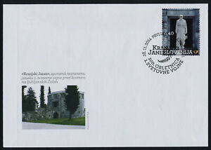 Slovenia 1094 on FDC - 100th Anniversary of the start of WWI, Memorial