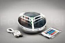 15 cm LED Light Base Shisha Untersetzer Toppreis ! 16 Farben mit Fernbedienung