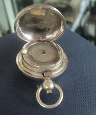 Vintage Sterling Silver Sovereign Case / Holder -  h/m 1902 Minshull & Latimer