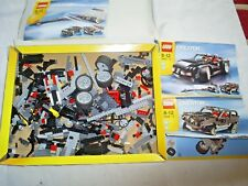 Lego Creator 3 in 1 set - 4896 Roaring Roadster with instructions  not complete