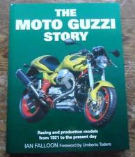 Moto Guzzi Story racing + production models from 1921 Motor Cycle FALLOON new bk