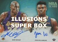 NBA Super Box 30 Cards: 2 Auto/Relic + Stars + RCs +1 NBA ILLUSIONS PACK!