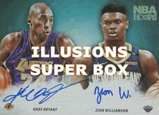 NBA Super Box 30 Cards: 2 Auto/Relic + Stars + RCs +1 NBA ILLUSIONS PACK!