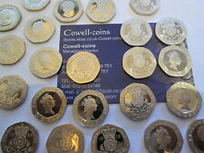 More details for proof 20p twenty pence mint condition! 1982 -2020 choose your year. birthday.ect