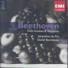 Beethoven Cello Sonatas & Variations - Jacqueline Du Pre Daniel Barenboim 2CD