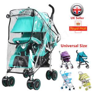 Waterproof Universal Rain Cover Raincover for Baby Pushchair Stroller Pram Buggy