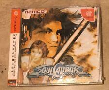 Soul Calibur Sega Dreamcast JAPANESE IMPORT NEW factory sealed