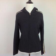 Banana Republic Wool Cardigan Sweater Womens Medium Hoodie Jacket Zip