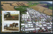 Ireland 2017 MNH National Ploughing Championships Tractors Horses 2v M/S Stamps