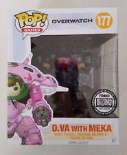 SDCC 2017 Funko Pop! D.Va with Meka Blizzard Exclusive Overwatch