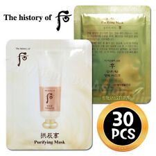 The history of Whoo Purifying Mask 4ml x 30pcs (120ml) Sample Newist Version