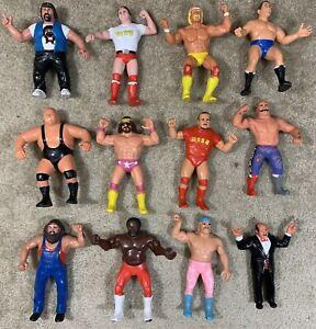 WWF LJN Lot Of 12! Nice Shape! Hogan Macho Bundy Piper JYD Vintage Titan Sports