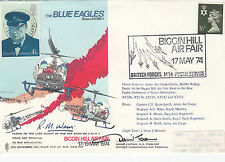 AD1 The Blue Eagles Reflown and Signed by 4