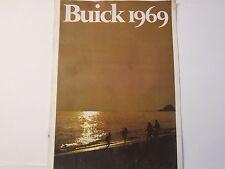 Original 1969 Buick Brochure Riviera Wildcat LeSabre Skylark GS LOTS More Listed