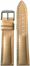 22x18 XL RIOS1931 for Panatime Beige Vintage Watch Strap w/Buckle for Breitling