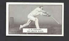 GALLAHER - FAMOUS CRICKETERS - #99 J M GREGORY, NEW SOUTH WALES