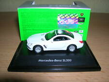 Welly mercedes-benz sl500/sl 500 blanco white, 1:87 h0 nuevo + embalaje original