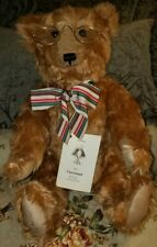 THE OLD MAN JOINTED TEDDY BEAR~ MOHAIR~CARROUSEL BY MICHAUD~RARE