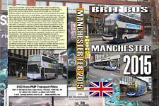 3045. Manchester. UK. Buses. February 2015. Fleet renewables seem faster here th