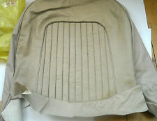 ROVER P6 BUCKSKIN LEATHER FRONT UPRIGHT SEAT COVER NEW NOS 389425 GENUINE