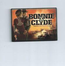 BONNIE & CLYDE Musical Souvenir Magnet Jeremy Jordan [SUPERGIRL] Laura Osnes