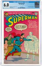 Superman #91 CGC 6.0 DC 1954 Action Cover! Justice League! Comics! L11 112 cm