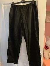 black chef trousers Large