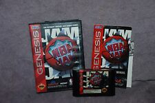 NBA JAM Sega Genesis Complete in Box 1993 ARENA MIDWAY 54 Stars from 27 Teams