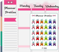 P1522 Car Wash Planner Stickers