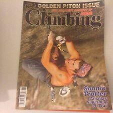 Climbing Magazine Sonnie Trotter Canada's Superman February 2007 060317nonrh