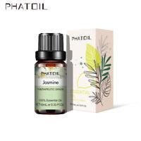 10ML Fragranze oli biologici oli essenziali di aromaterapia pura gelsomino 100%