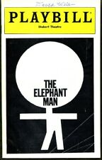The Elephant Man In-person Cast Signed Playbill