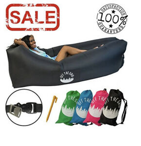 Chill Chair- Sofa Air Bed Inflatable No Pump Needed Indoor Outdoor
