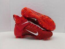 Nike Alpha Menace Elite 2 Flyknit Football Cleats Red AO3374-600 Mens Sz 9.5 NEW