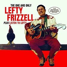 Lefty Frizzell - One & Only Lefty Frizzell / Listen to Lefty [New CD] Bonus Trac