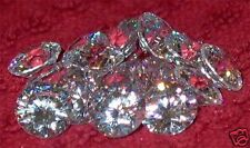 Cubic Zirconia * CZ * Brilliant Cut Rounds * Loose Gemstone Lots * 2mm to 10mm