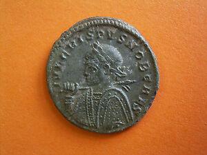 Roman Imperial Follis Of Crispus - UK Metal Detecting Find.