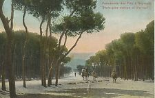 POSTCARD / SYRIA / SYRIE / PROMENADE A BEYROUTH Slot glued low center