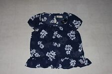 Hollister by Abercrombie Womens Navy Floral Canyon Sheer Blouse S - NWT $39.50