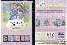 Crafters Companion DVD rom PC CD-rom paintbox poppets by Christine Haworth