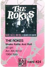 THE ROKES SHAKE RATTLE AND ROLL RARO 1 CARD # 24