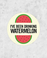 "Beyonce Circular Sticker! ""I've been drinking watermelon"" drunk in love, jay-z,"