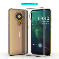 For Nokia 7.2 5.3 4.2 3.2 2.2 8 7 6 5 3 Crystal Clear Soft TPU Phone Case Cover