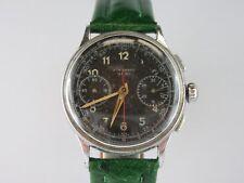 E366 ⭐⭐ vintage JUNGHANS Chronographe kal.88 schaltrad Montre-bracelet Military 1951 ⭐⭐