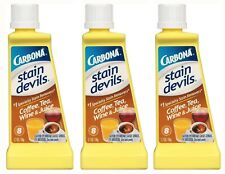 Carbona Stain Devils Specialty Coffee, Tea Wine & Juice Remover (1.7 Oz) - 3 NEW