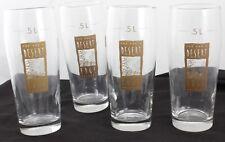 DESERT EDGE Brewery Glasses Salt Lake City Set of 4 Beer Glasses