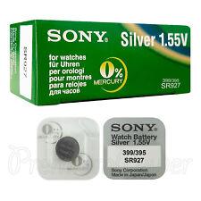 2 x SONY 395 399 batteries Silver oxide 1.5V SR927SW SR57 V395 V399 for watches
