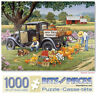 Bits and Pieces 1000 Piece Puzzle-Home Grown-by Artist John Sloane